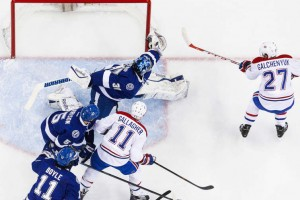 Canadiens Cai para Tampa Bay Lightning; 2 – 4