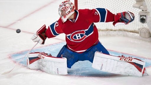 Carey Price, goleiro do Montreal Canadiens.